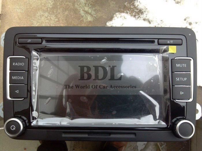 oem car stereo radio rcd510 usb unused with code and rear. Black Bedroom Furniture Sets. Home Design Ideas
