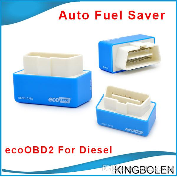 High Quality EcoOBD2 Diesel Car Chip Tuning Box Plug and Drive OBD2 Chip  Tuning Box Lower Fuel and Lower Emission for diesel Free Shipping