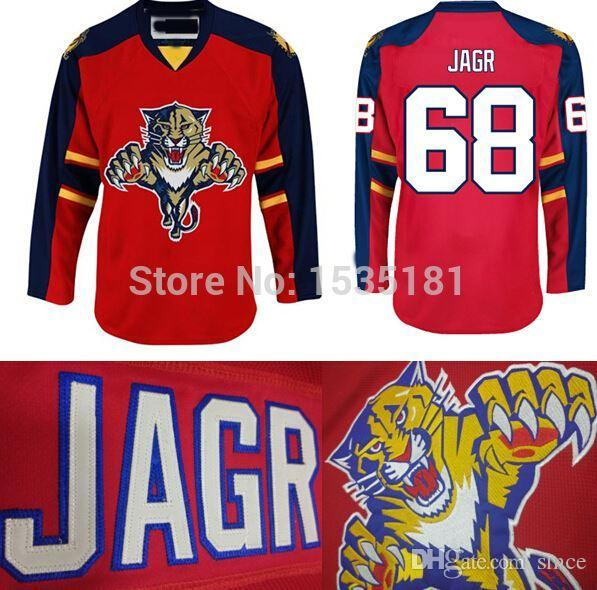 c832623de Florida Panthers Jerseys #68 Jaromir Jagr Jersey Panthers Red Lacing V Neck  Stitched Jaromir Jagr Hockey Jerseys Cheap From Since, $21.32 | DHgate.Com
