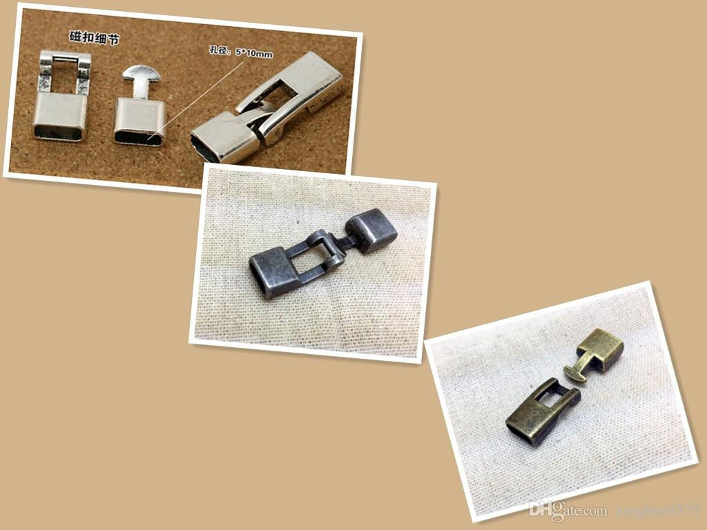 Accessory Materials Metal Clasps Connector For DIY Bracelet Jewelry Components 50x