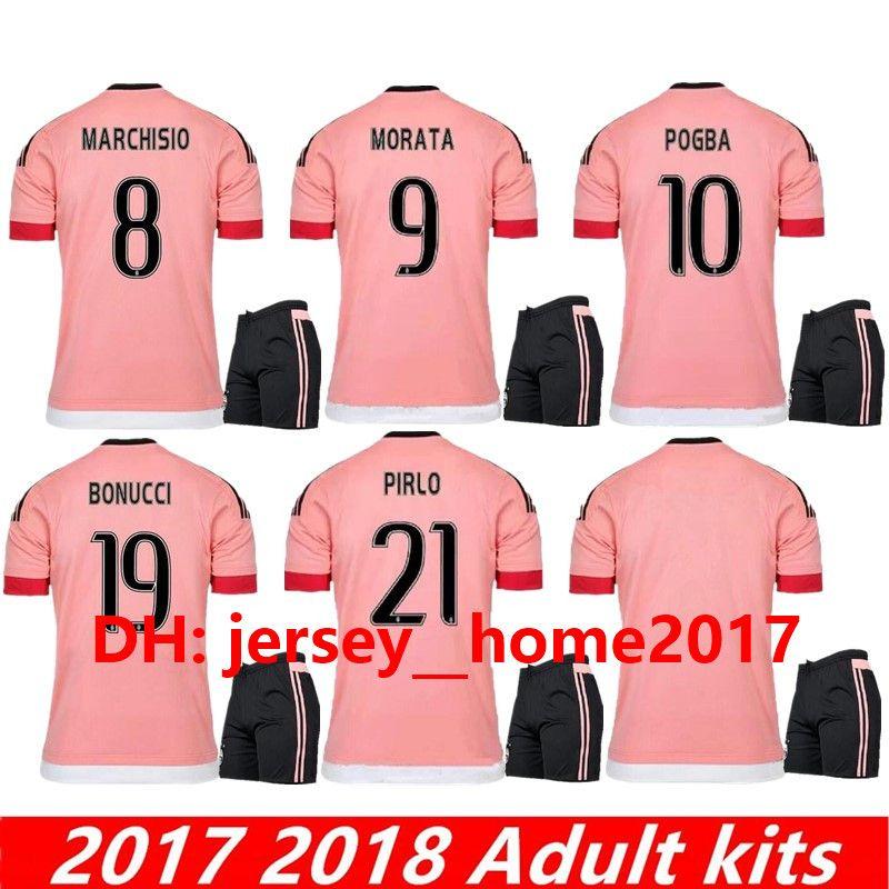 526d1f4c002 2019 JUVENTUS 2015 2016 Old Pink Juv Legion Jerseys RONALDO DYBALA Soccer  Jerseys CHIELLINI POGBA MARCHISIO Pirlo Higuai Italia Football Shirts From  ...