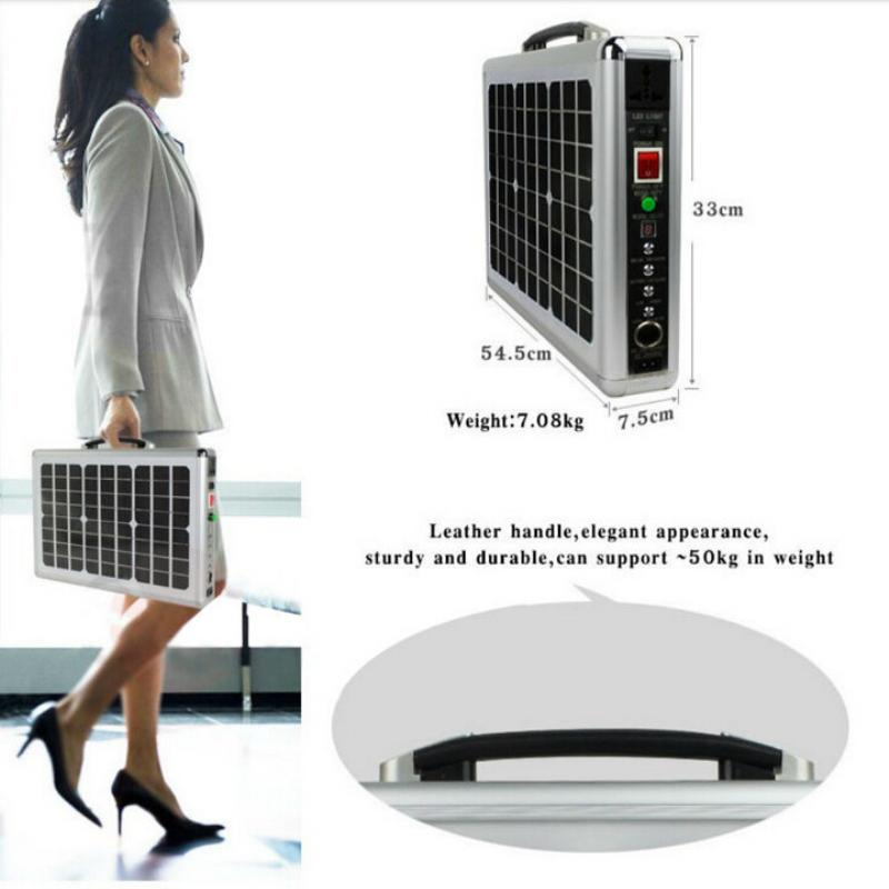 20w Home Solar Power System For Mobile Homes And Variety