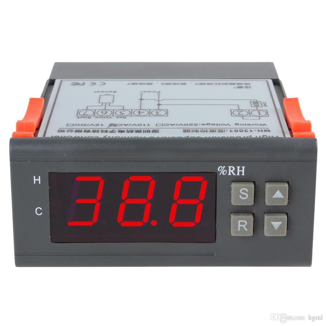 AC 110V Digital LCD Air Humidity Controller Measuring Range 1% ~ 99% with Sensor INS_121