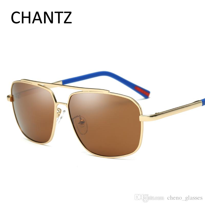 8e66834c358a20 Vintage Mirror Sunglasses Men Polarized Brand Metal Sun Glasses for ...