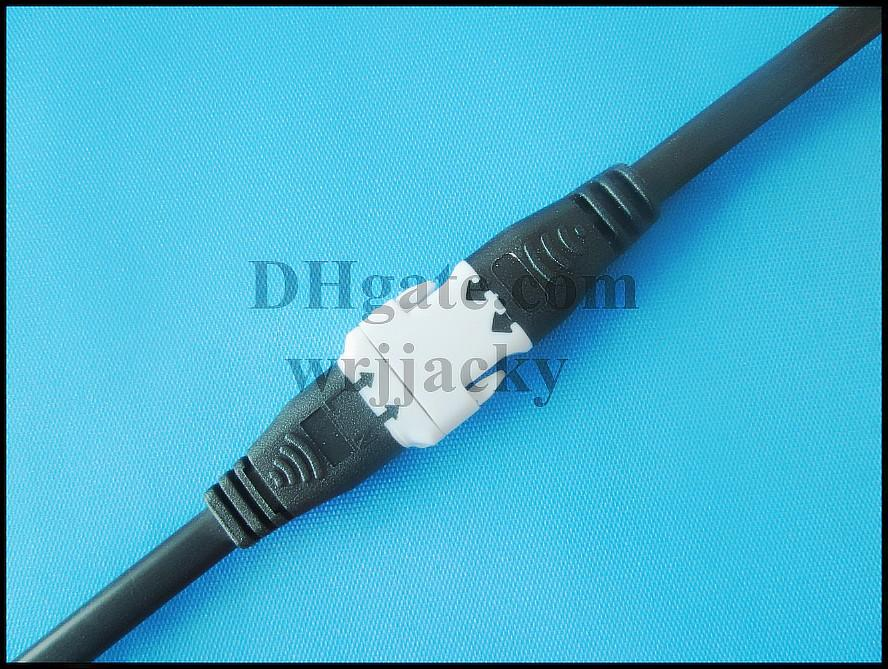 new style general connector wire cable male and female for LED lightings high voltage and low voltage  5V-300V  15CM 2 pin new design 2019