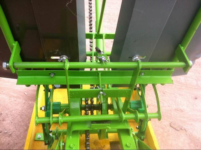 2018 2 filas de la manivela trasplantadora de arroz, plantador de arroz manual, máquina sembradora arroz