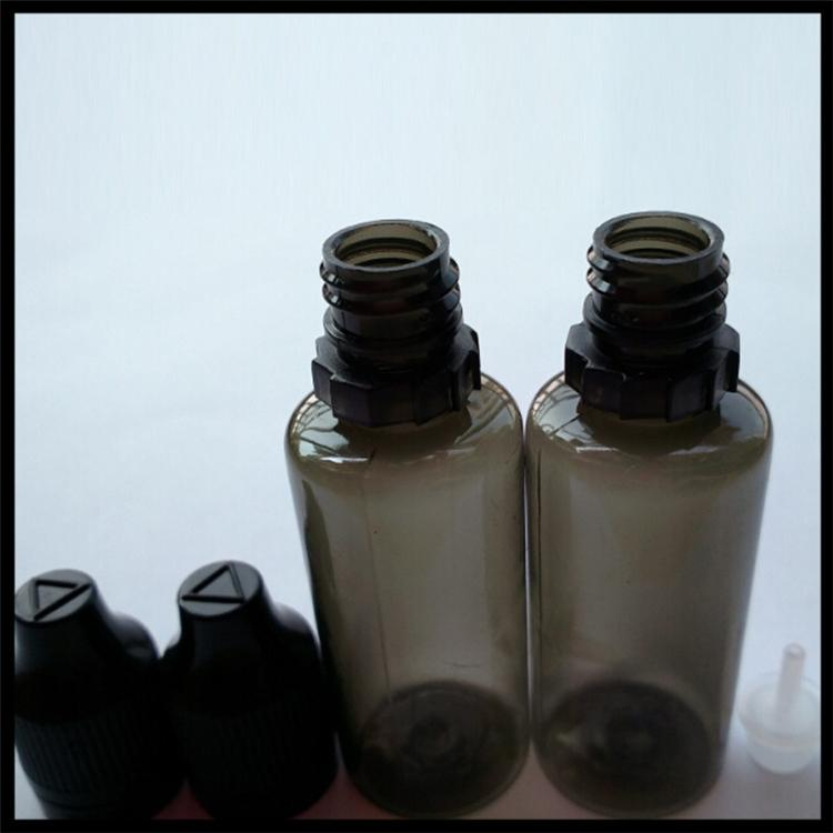 20ml Pastic Ejuice Bottles With Long Thin Tip Dropper And Childproof Tamper Cap Black E Liquid Bottle E
