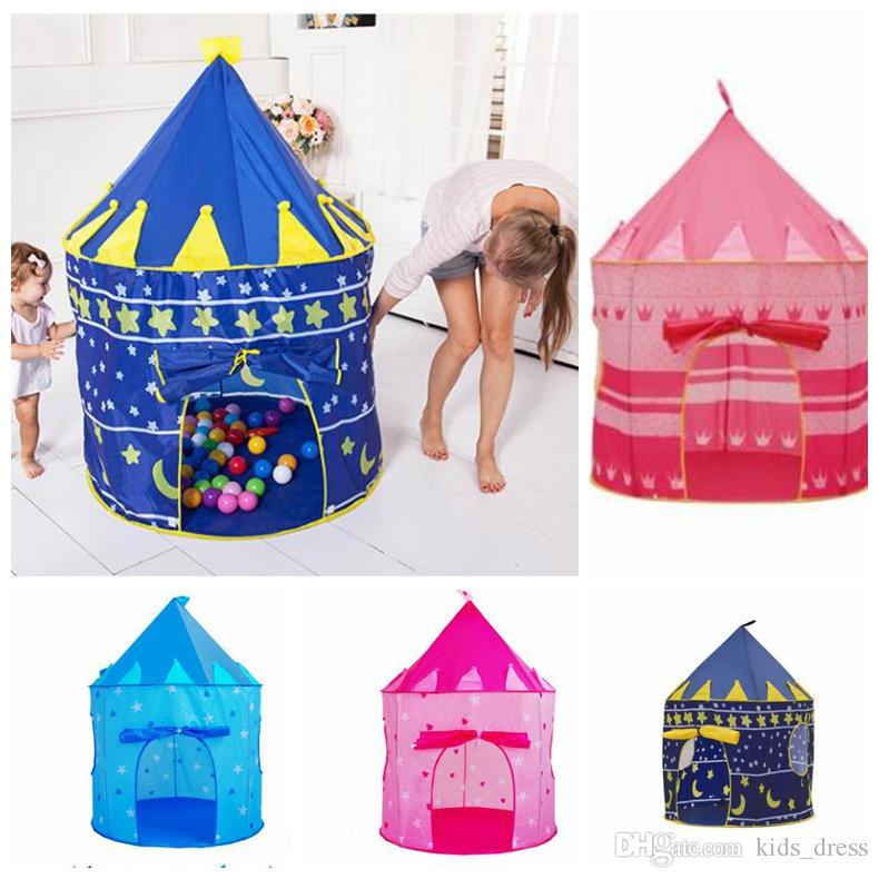 Girl Princess Castle Portable Kids Play Tent Indoor Outdoor Play Tents Playhouse Play Tent Kids Girl Princess Castle Outdoor House Kka3249 Kids Tent House ...  sc 1 st  DHgate.com : castle tent - memphite.com