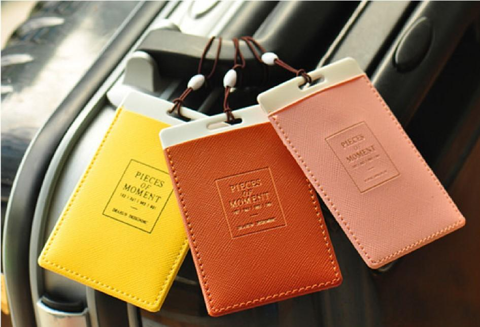 2018 luggage tags travel paper suitcase tag card case tag packet 2018 luggage tags travel paper suitcase tag card case tag packet label with the lanyard work card case from fashionsclub 047 dhgate reheart Image collections