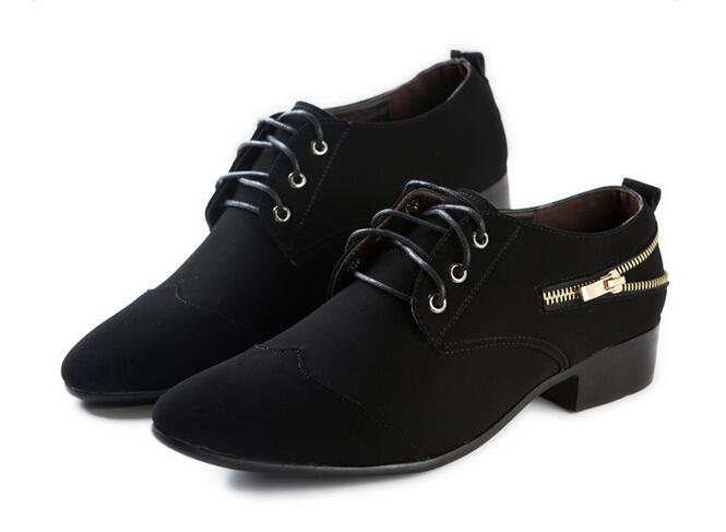 2015 new style s wedding shoes mens black frosted