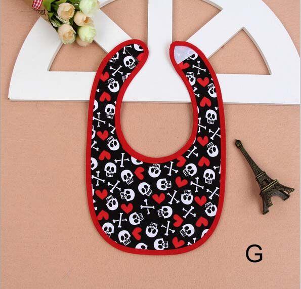 8 stil Baby Geschenke Baby Jungen Mädchen Lätzchen Säuglingsschädel Spucktücher Kinder Lätzchen Baby Spucktücher Kinder Baby Lätzchen Neugeborenen Kleidung