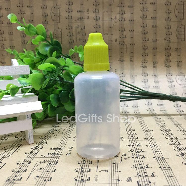 الجملة زجاجات الصين المورد حار بيع زجاجات البلاستيك LDPE / مع بالقطارة ، زجاجة فارغة السائل سيج 50ML