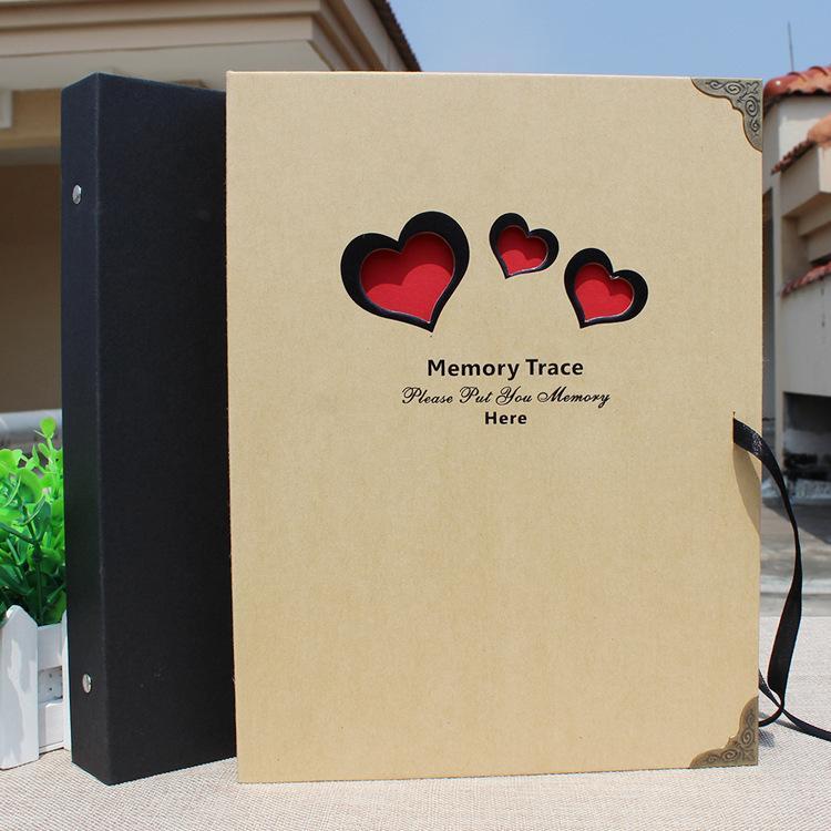 Bien-aimé After Korea Creative Diy Handmade Albums Love Gift Box Modern  SZ68