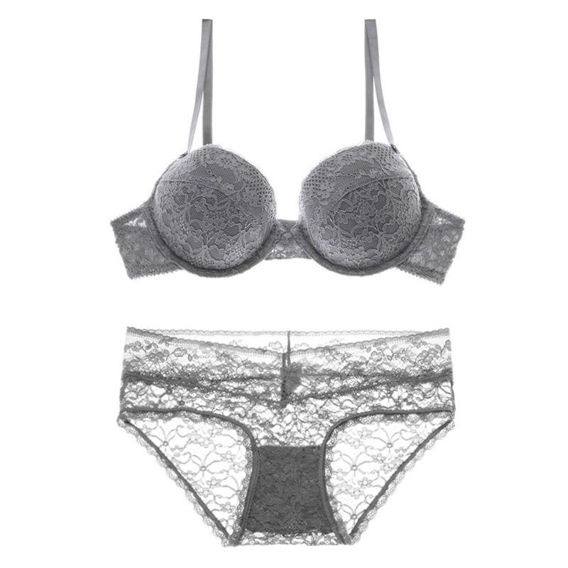 07da75b349 2019 High Quality Lightly Foam Padded Push Up Brassier Panty Set Lace Lingerie  Set From Hclhmx, $20.31 | DHgate.Com