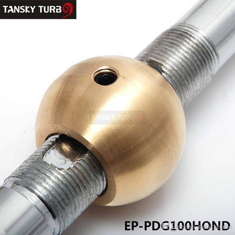 Tansky - Adjustable Height Dual Bend Short Shifter M10*1.5 For Integra CRX B16 B18 B20 D16 Complete Set of Short Shifter EP-PDG100HOND