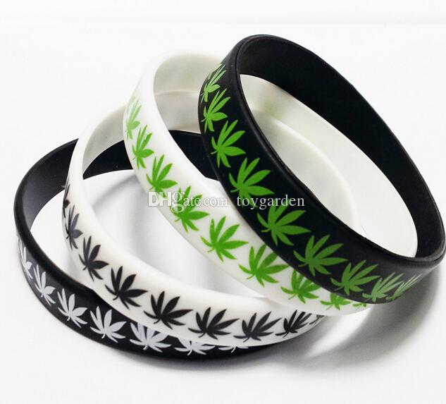 Bob Marley Maple Leaf Bracelets En Silicone 12 mm bande En Gros Cadeau De Partie Bijoux Beaucoup