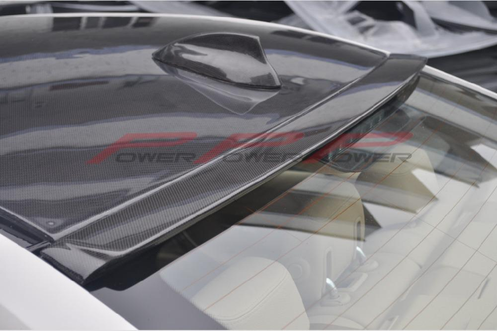 2019 Carbon Fiber Roof Spoiler Ac Style Full Add On For Bmw F30 3