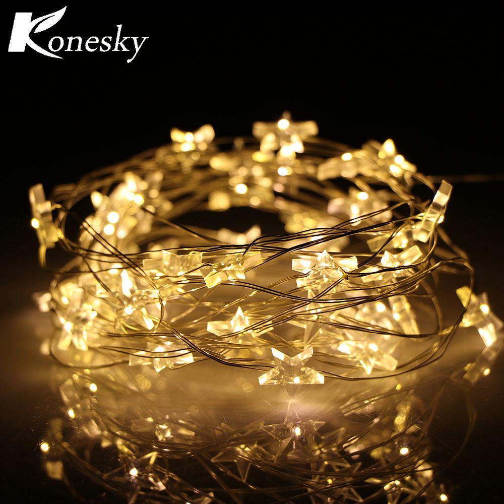 Wholesale- Konesky 3M Copper Wire Lighting Light Christmas Lights ...