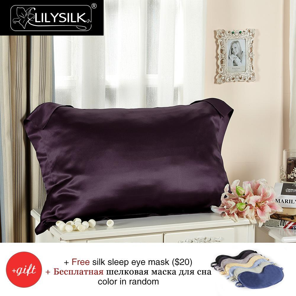 2055ba5fb Wholesale Pillow Case LILYSILK 100% Silk Pillowcase For Hair Oxford 25  Momme100% Pure Mulberry Silk Silk Pillow Case Body Pillow Case From  Huayama
