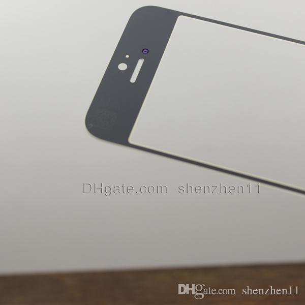 Frontglaslinse-Touchscreen-Ersatz für iphone 6 iphone 6 plus transparentes Touchpanel des Handyteils billig freies Verschiffen SNP007