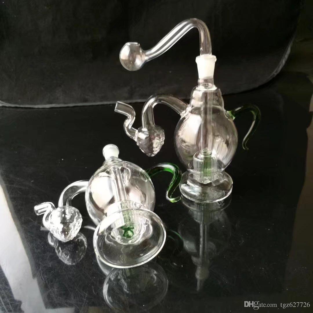 wholesale Hookah - Hookah [blue glass teapot pot, color random delivery