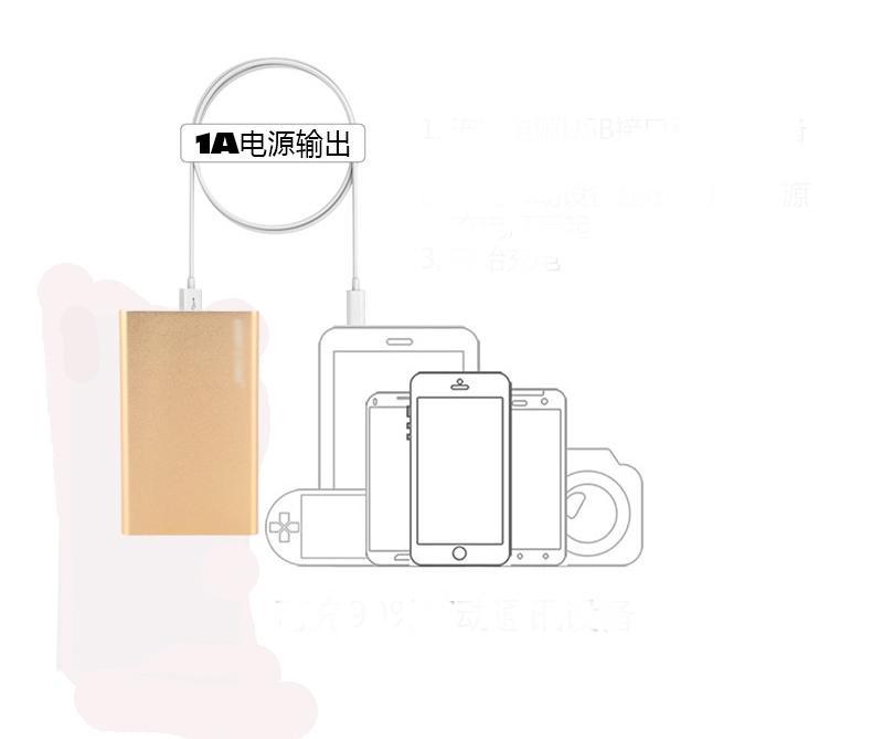 10000 mah banco de potência de alta qualidade universal ultra fino banco de potência 10000 mah carregador de backup de bateria externa usb powerbank