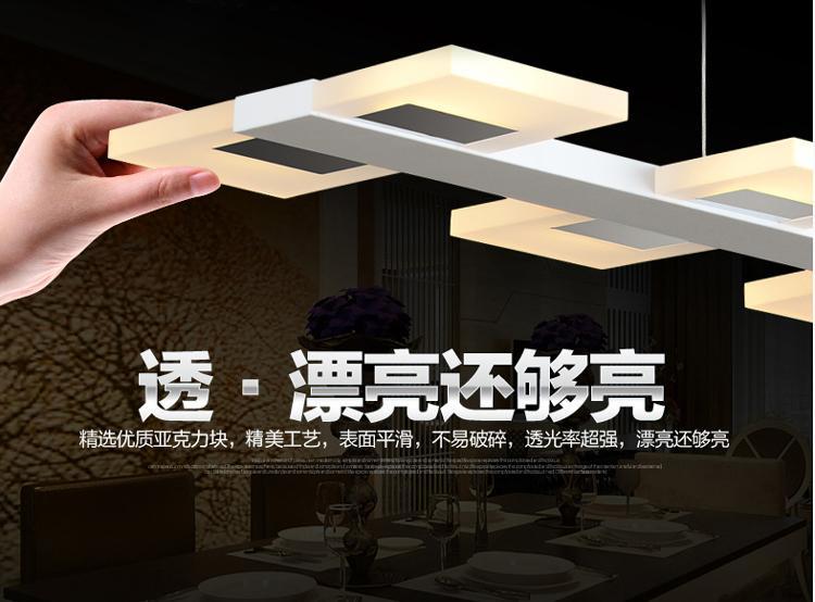 mode-moderne led pendelleuchte lampen wohnzimmer anhänger leuchtet