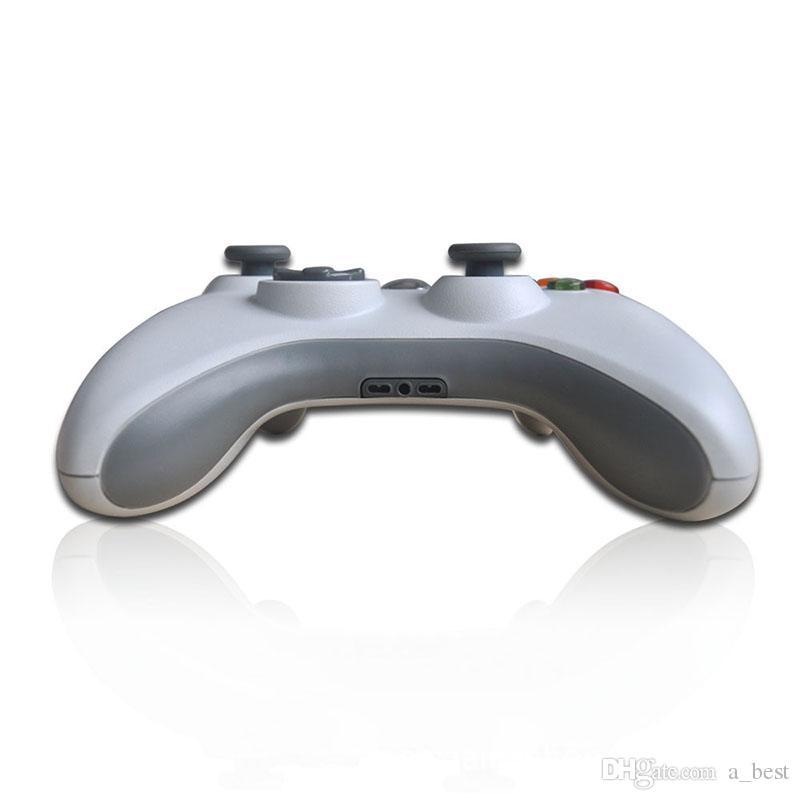 Pour Microsoft Xbox 360 USB Contrôleur de jeu filaire Gamepad Golden Camouflage Joystick Manette de jeu Pad Double Shock Controller 2017
