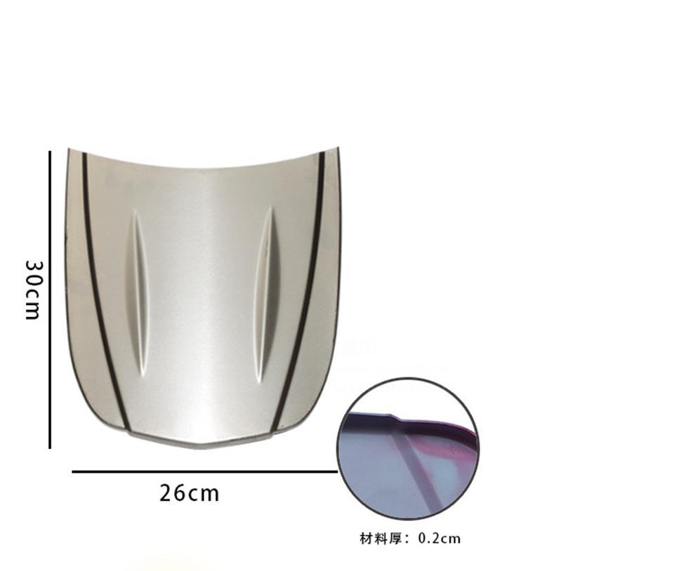30 * 26 cm metal araba hız şekli mini araba kaput mini kaputu Özel boya Örnek model Oto Vücut için cam kaplama ekran MX-179 M 10 adet