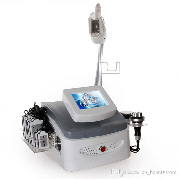Portable cavitation slimming fat freezing machine weight loss massage infrared system