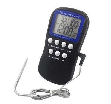 Baking tools Multifunctional electronic thermometer screen display digital thermometer probe type food