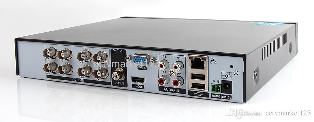 New Arrival 1080P AHD-H Hybrid 8 Channel AHD DVR Recorder 3 In 1 Hybrid DVR 8Ch AHD DVR 1080P/960P AHDH Support For 2.0MP AHD Camera