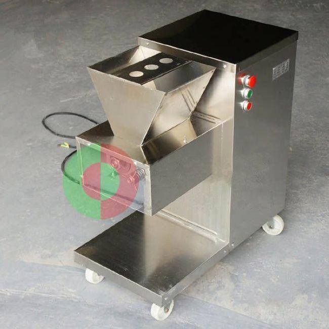 الجملة-شحن مجاني 110/220 فولت qw آلة قطع اللحوم ، تقطيع اللحم ، كتر اللحم ، 800 كيلوجرام / ساعة آلة تجهيز اللحوم