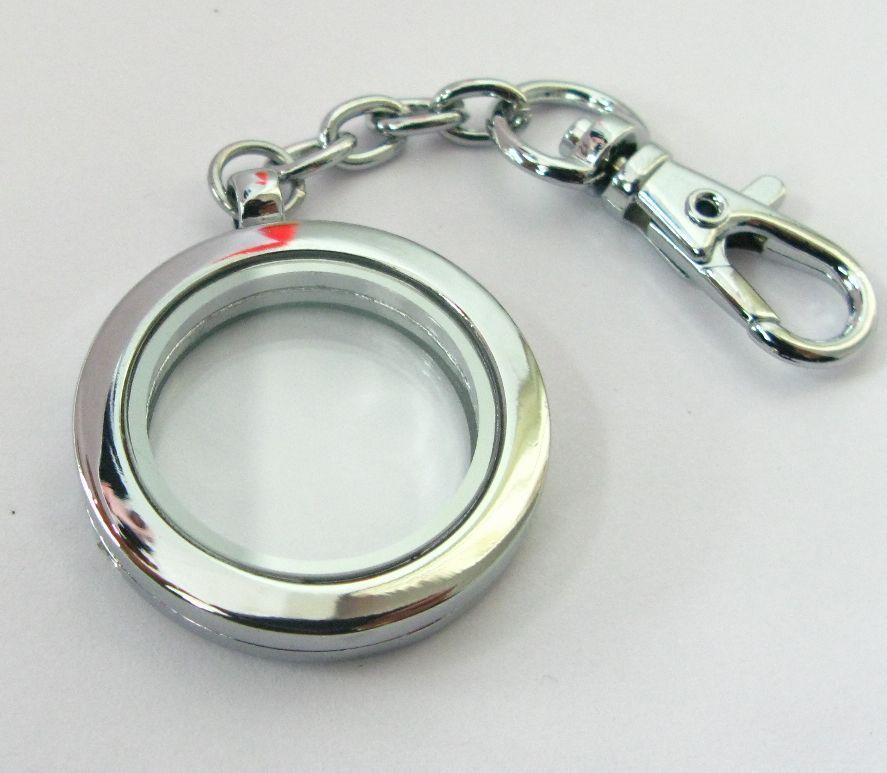 5 adet manyetik çinko alaşım 30mm yuvarlak cam yüzen madalyon anahtarlık ve yüzen madalyon takılar aşk notu ücretsiz kargo