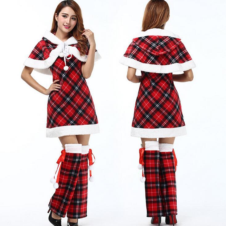 Großhandel 2015 Scotticize Nettes Frauen Kleid Weihnachtskostüm ...