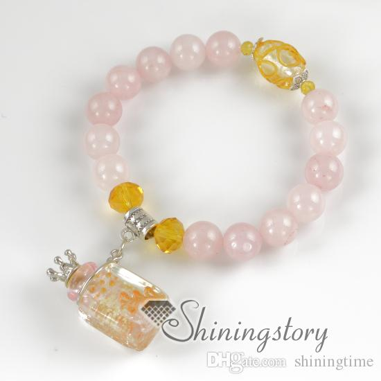 aromatherapy jewelry scents lampwork glass essential oil diffuser bracelet essential oil bracelets cheap fashion jewelry
