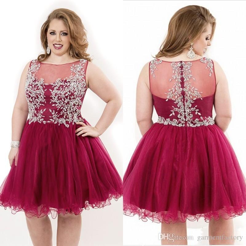 short plus size prom dresses 2015 new style bateau neckline a line