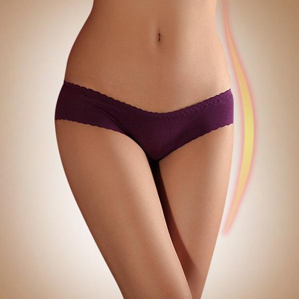 fc9626ea8 Compre Novo Presente Sexy Das Mulheres Sem Costura Underwear Hip Enhancer  Shaper Acolchoado Calcinhas Calcinhas Modal Biquíni Frete Grátis Ny0014 De  ...