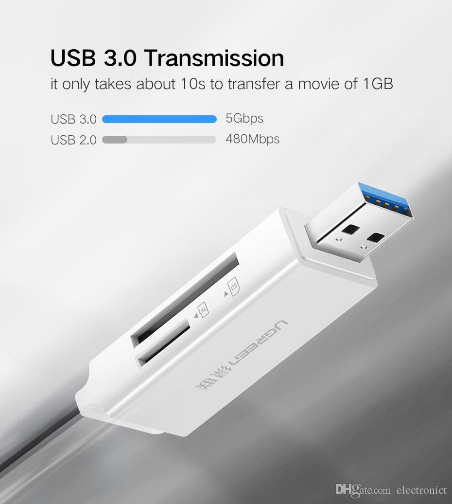Tout en Un USB 3.0 Lecteur de Carte Micro SD Lecteur de Carte À Puce Max 256 GB Lecteur de Carte Mémoire SD Adaptateur Livraison DHL gratuite