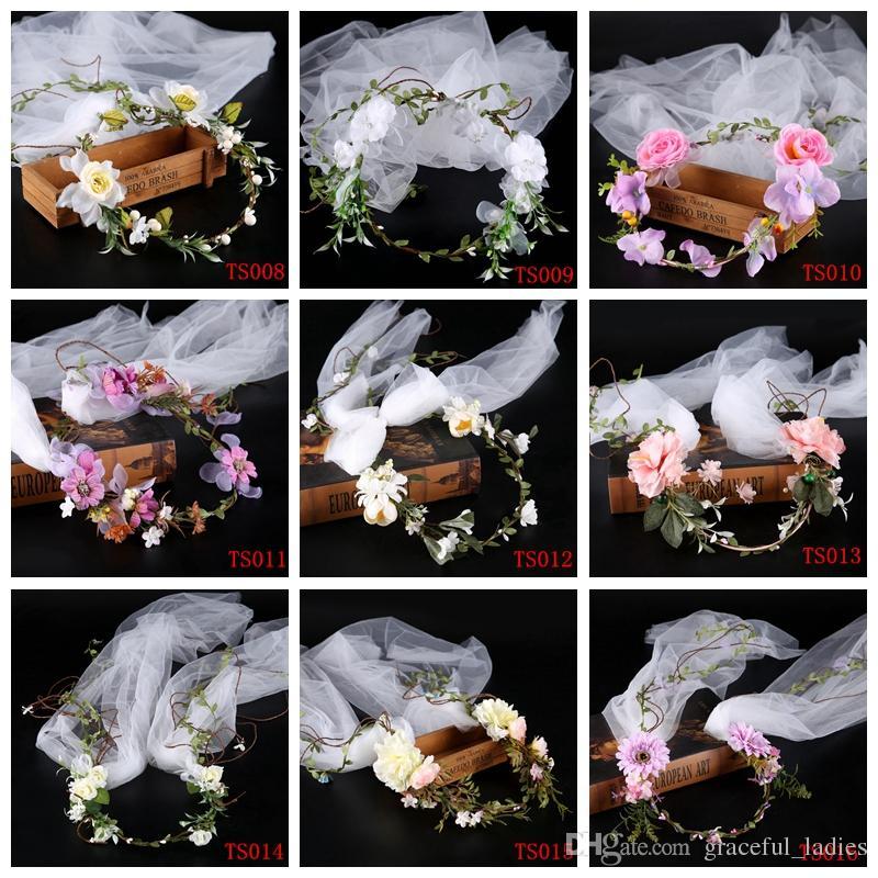 Grosshandel Neue Ankunfts Blumen Kopfschmuck Hochzeits Blumen