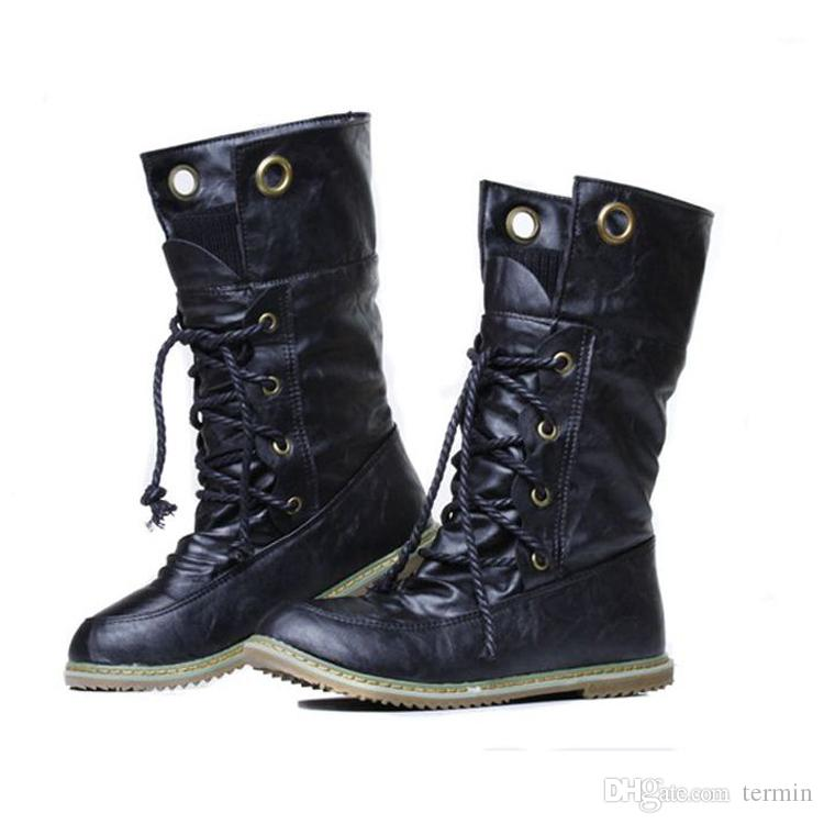 Retro boots wedges short boots European and American style warm shoes with Booties on flat soles women. XZ-075