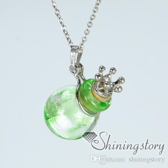 ball essential oil diffuser necklaces wholesale handcrafted glass perfume necklace bottles essential oil necklace wholesale diffuser necklac