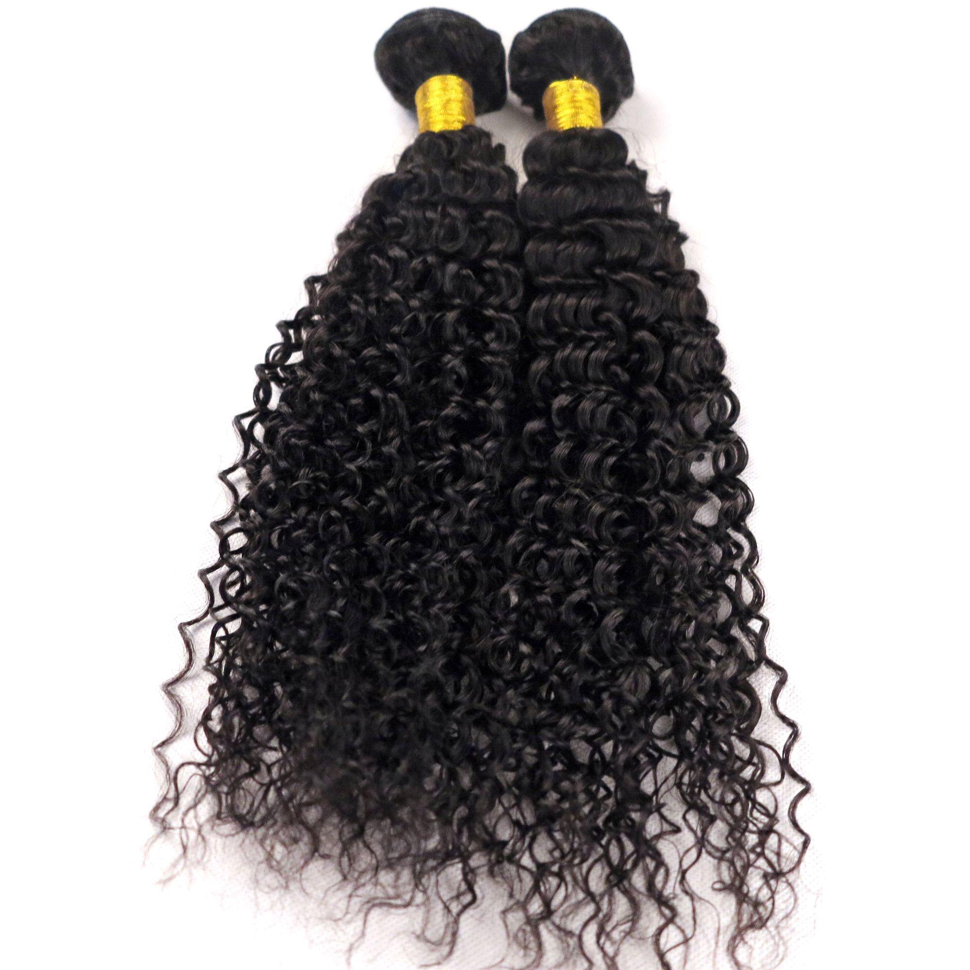 Mink Virgin Hair Extensions Human Hair Weaves Water Wave Unprocessed