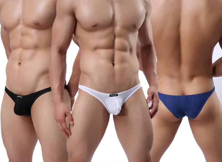 Compre Hombres Pantalón Corto Interior Atractiva Secuencia De G Bolsa  Calzoncillos Para Hombre Tanga Tanga Bulge Breve Boxer Bikini Volver T De  Los Hombres ...