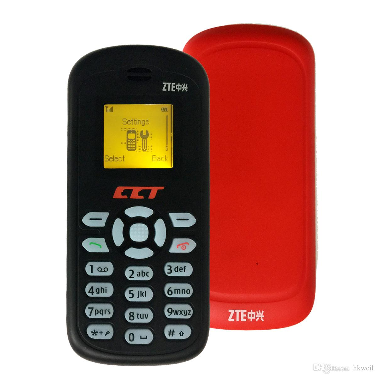 Original ZTE S500 GSM 900/1800/1900 Mobile Phone With 1.0Inch Screen Mini Phone English language