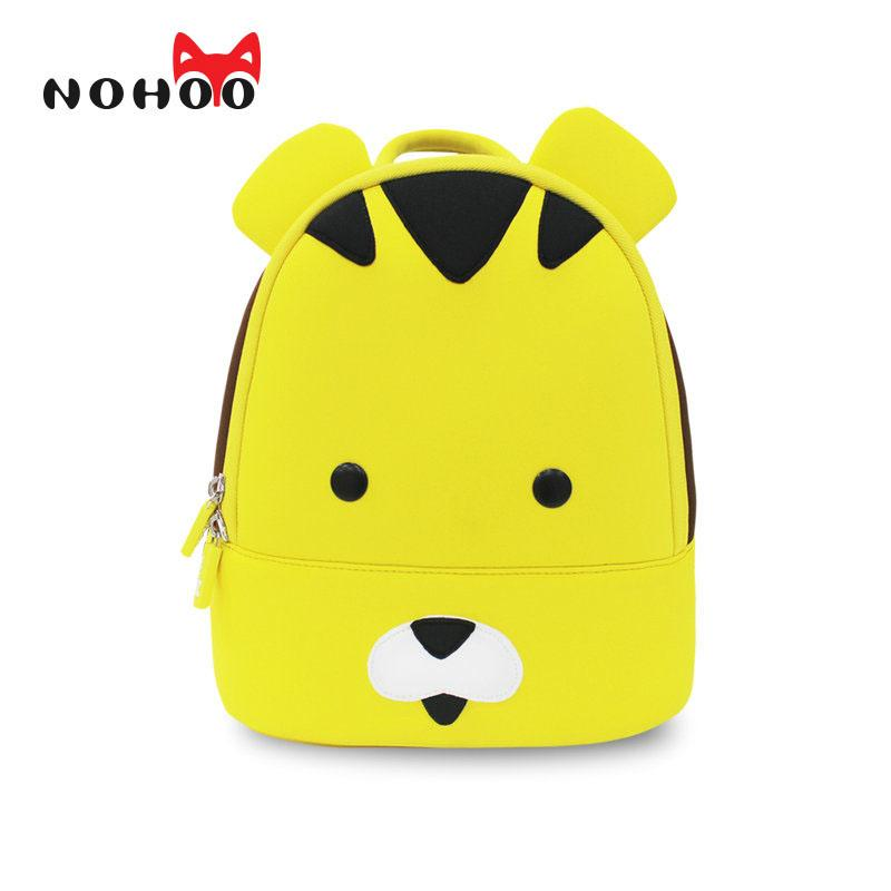 Nohoo Tiger Waterproof Small Backpacks Kids Children Animals