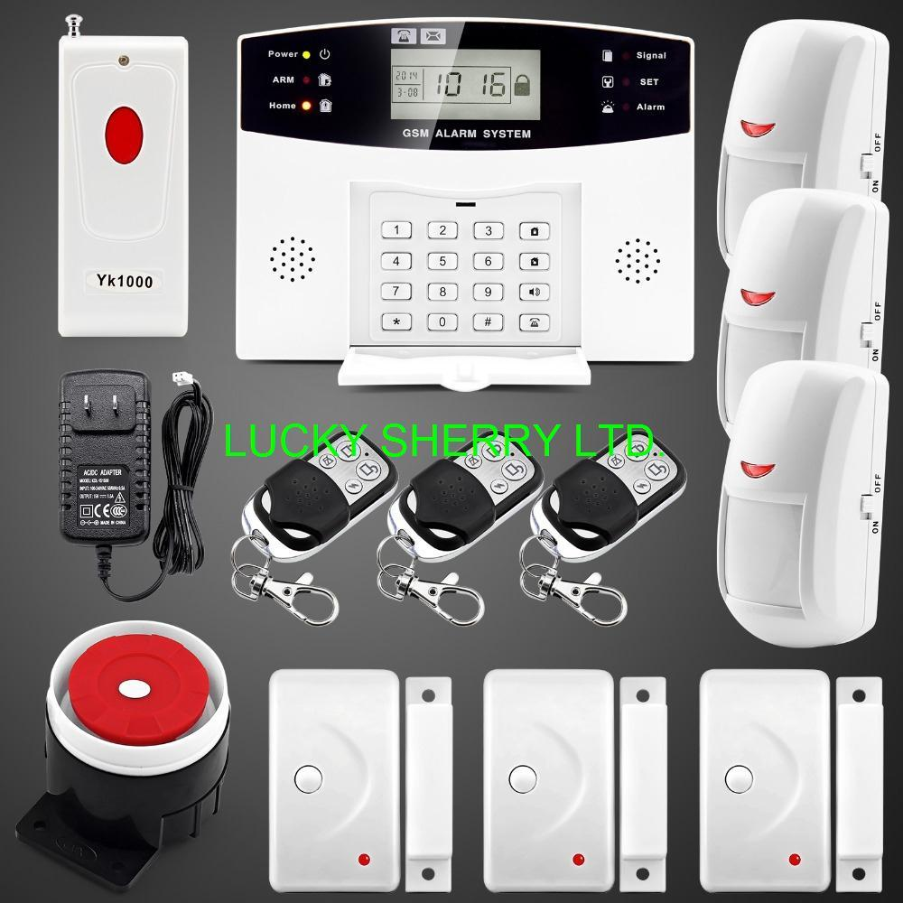 Upgraded Latest Wireless Gsm Sms Alarm System Home Security Alarm ...