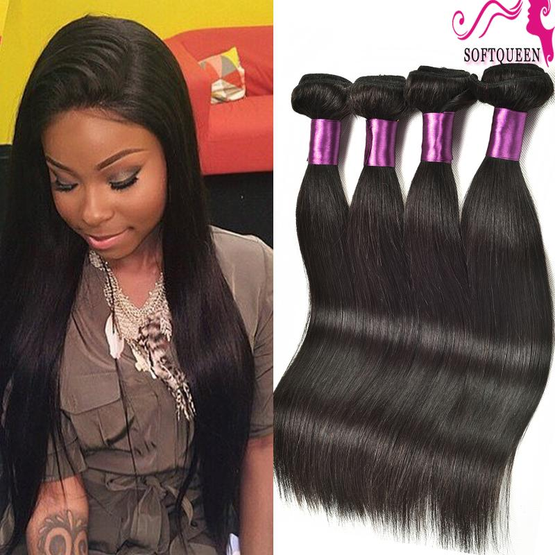 Natural Indian Straight Hair Weave 100 Raw Indian Hair Bundles