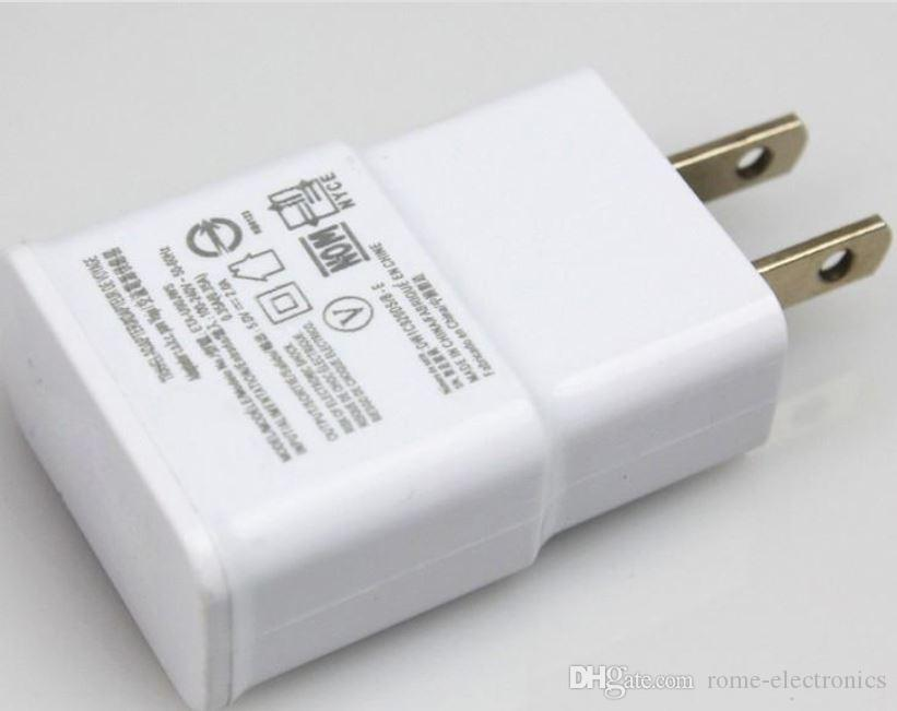 UE US USB Mur Chargeur Complet 2A Power Plug Adaptateur pour Samsung Galaxy Note 2 3 4 N7100 S4 i9500 S3 i9300 S5 i9600