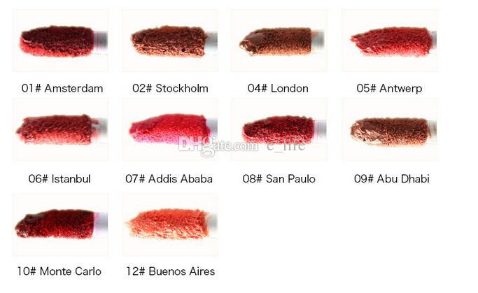 2020 nueva NYX mate suave crema de labios brillo de labios lápiz labial largo de la vendimia Lasting NYX Brillo Labial 10g